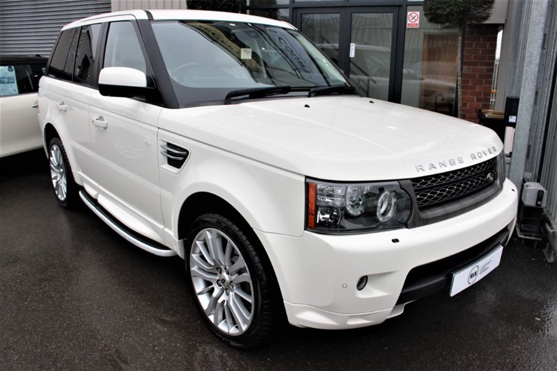 used Land Rover Range Rover Sport TDV6 HSE-SAT NAV-REAR CAMERA in warrington-cheshire