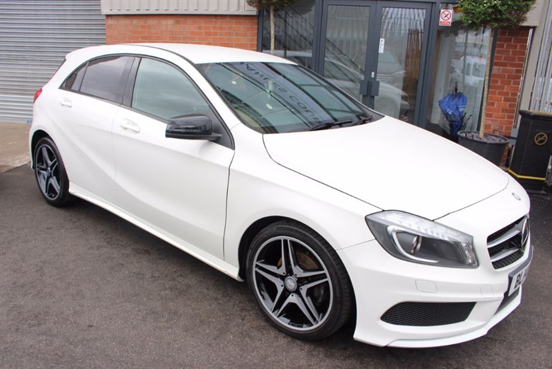 used Mercedes A180 CDI BLUEEFFICIENCY AMG SPORT WITH NIGHT PACK in warrington-cheshire