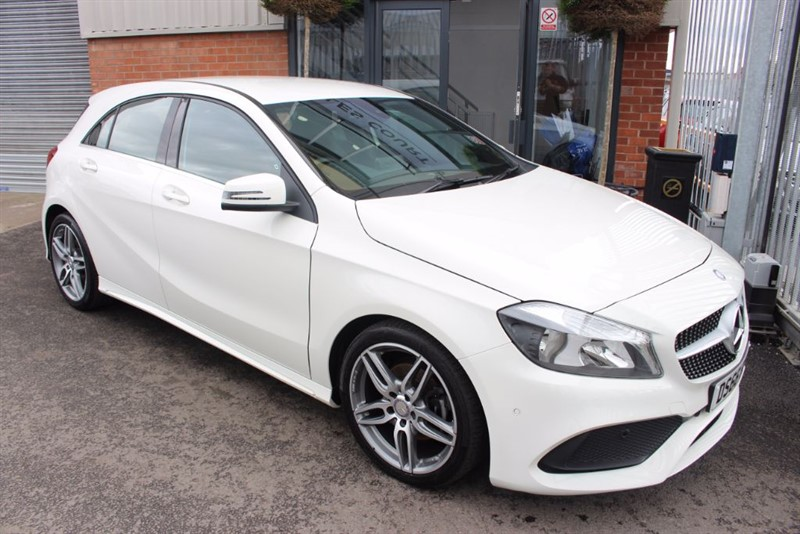 used Mercedes A180 CDI AMG LINE EXECUTIVE-SAT NAV-REAR CAMERA-HEATED SEATS in warrington-cheshire