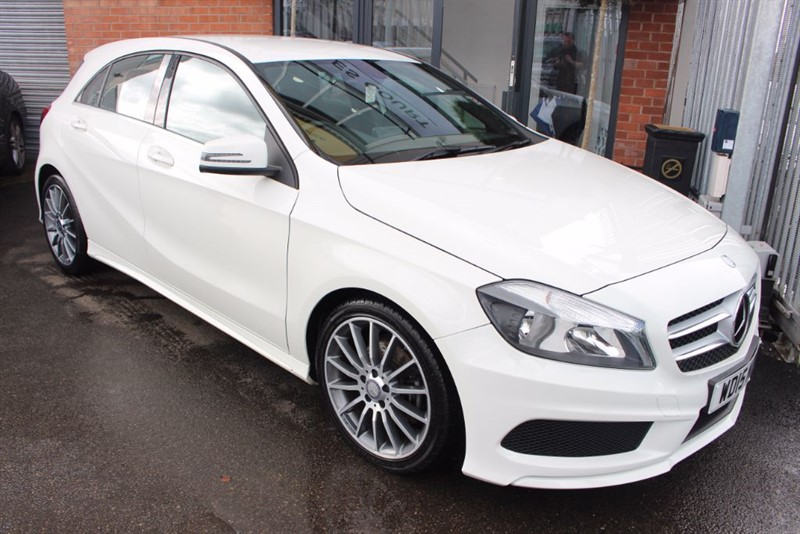 used Mercedes A180 CDI BLUEEFFICIENCY AMG SPORT-SIGHT & LIGHT PACK in warrington-cheshire