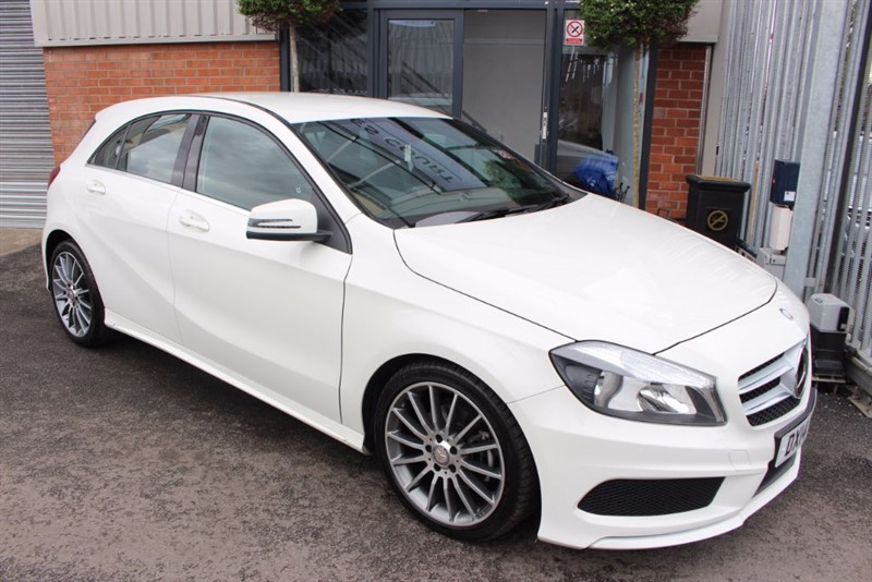 used Mercedes A200 CDI BLUEEFFICIENCY AMG SPORT-BLUETOOTH-CRUISE CONTROL in warrington-cheshire