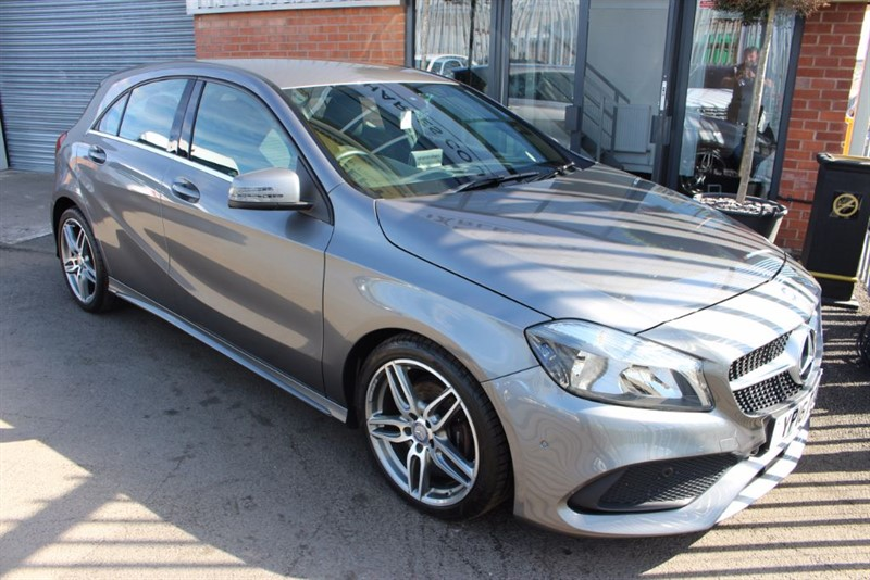 used Mercedes A200 D AMG LINE EXECUTIVE-SAT NAV-HEATED SEATS in warrington-cheshire