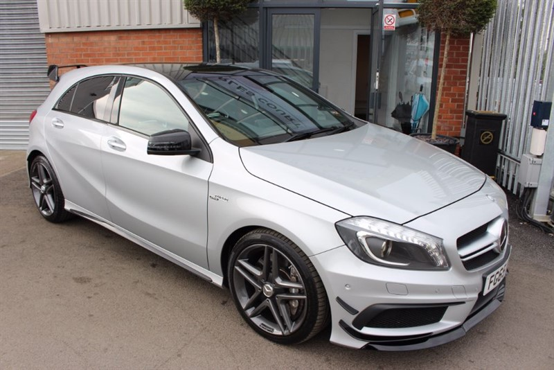 used Mercedes A45 AMG 4MATIC AERO KIT in warrington-cheshire