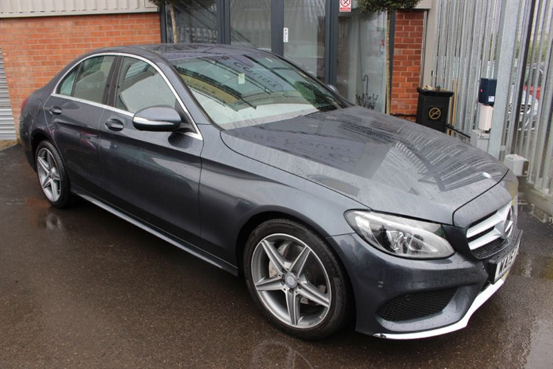 used Mercedes C200 AMG LINE. in warrington-cheshire