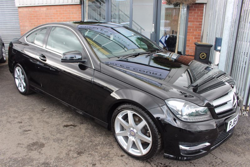 used Mercedes C220 CDI AMG SPORT EDITION-1OWNER-BLUETOOTH in warrington-cheshire