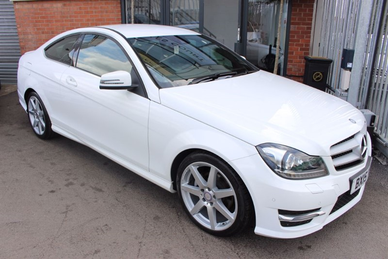 used Mercedes C220 CDI AMG SPORT EDITION-1OWNER in warrington-cheshire
