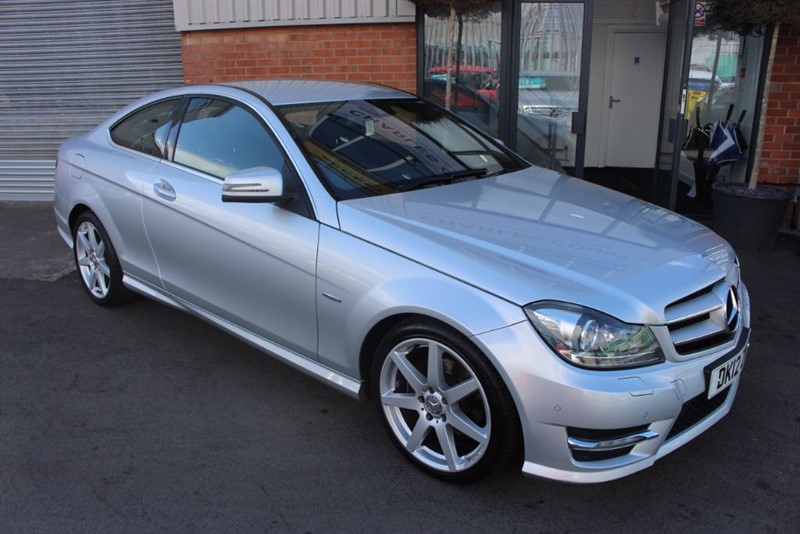 used Mercedes C220 CDI BLUEEFFICIENCY AMG SPORT-LOW MILEAGE in warrington-cheshire