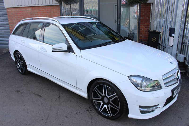 used Mercedes C220 CDI BLUEEFFICIENCY AMG SPORT PLUS-LOW MILES-1 OWNER in warrington-cheshire