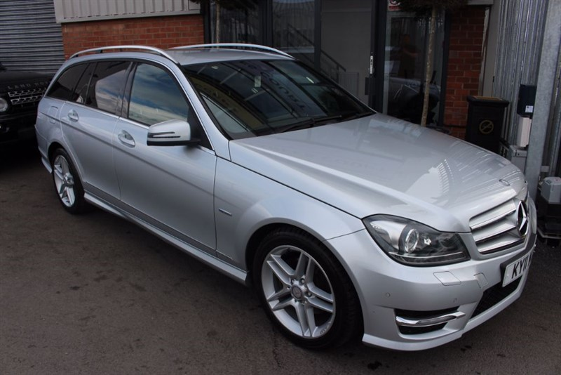 used Mercedes C220 CDI BLUEEFFICIENCY SPORT-LOW MILES-BLUETOOTH in warrington-cheshire