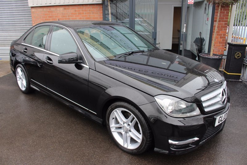 used Mercedes C220 CDI BLUEEFFICIENCY AMG SPORT-BLUETOOTH in warrington-cheshire