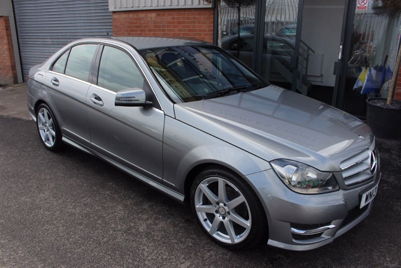 used Mercedes C220 CDI BLUEEFFICIENCY AMG SPORT-NAV READY-HALF LEATHER in warrington-cheshire