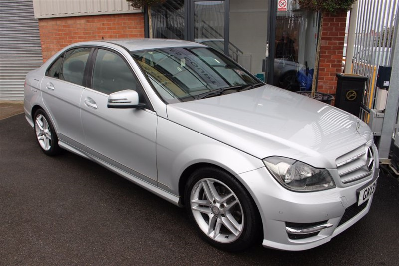 used Mercedes C220 CDI BLUEEFFICIENCY AMG SPORT-BLUETOOTH-CRUISE CONTROL in warrington-cheshire