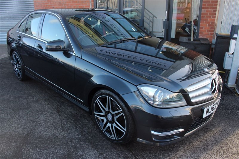 used Mercedes C220 CDI BLUEEFFICIENCY AMG SPORT PLUS-HALF LEATHER-CRUISE CONTROL-BLUETOOTH in warrington-cheshire