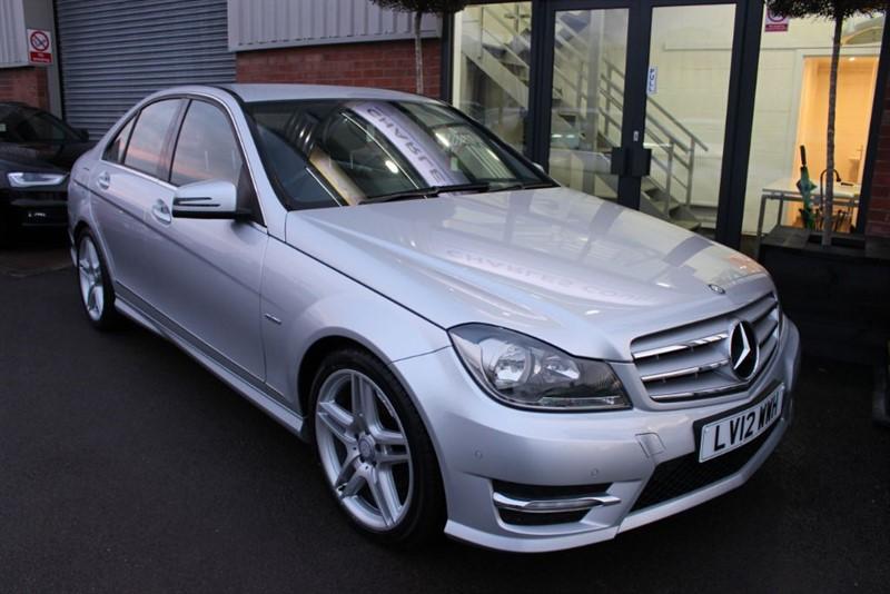 used Mercedes C220 CDI BLUEEFFICIENCY SPORT in warrington-cheshire