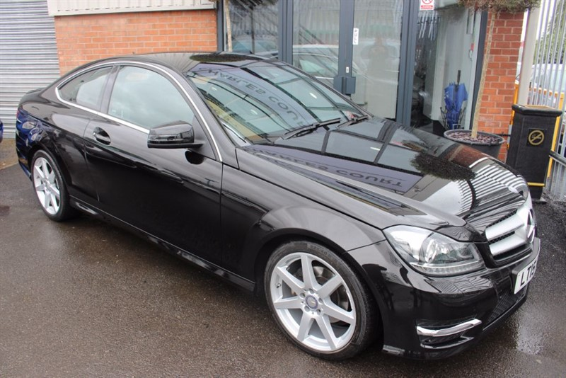 used Mercedes C250 CDI AMG SPORT EDITION PREMIUM-LEATHER-BLUETOOTH-PARKING SENSORS in warrington-cheshire