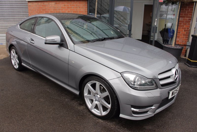 used Mercedes C250 CDI AMG SPORT EDITION PREMIUM PLUS-PAN ROOF-REVERSE CAMERA in warrington-cheshire