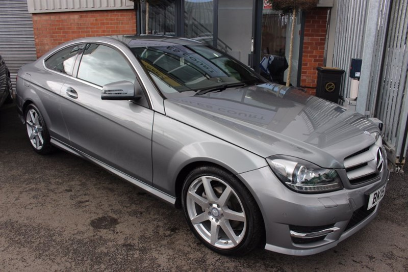 used Mercedes C250 CDI AMG SPORT EDITION-BLUETOOTH-1OWNER in warrington-cheshire