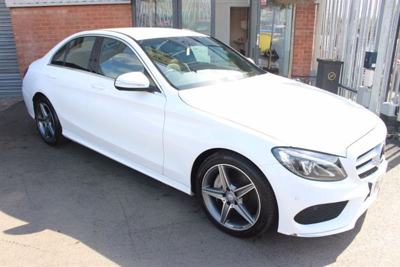 used Mercedes C250 BLUETEC AMG LINE-REVERSE CAMERA-STUNNING EXAMPLE in warrington-cheshire
