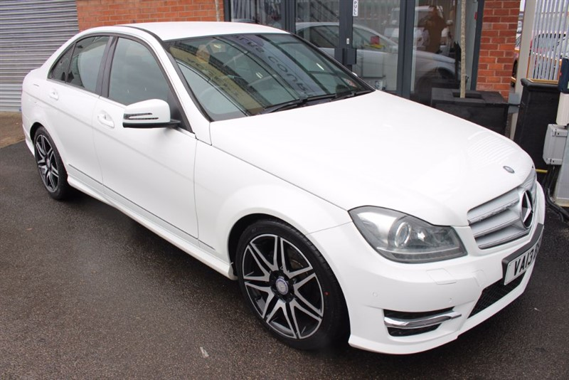 used Mercedes C250 CDI BLUEEFFICIENCY AMG SPORT PLUS-CRUISE CONTROL-LEATHER UPHOLSTERY in warrington-cheshire