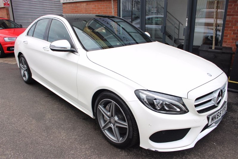 used Mercedes C250 D AMG LINE PREMIUM-1OWNER & PAN ROOF in warrington-cheshire