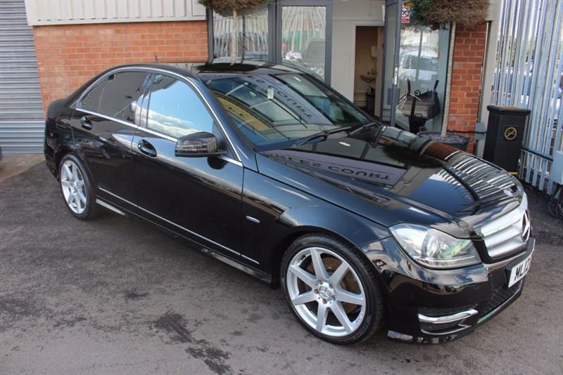 used Mercedes C350 CDI BLUEEFFICIENCY SPORT-LOW MILES-V6 DIESEL in warrington-cheshire