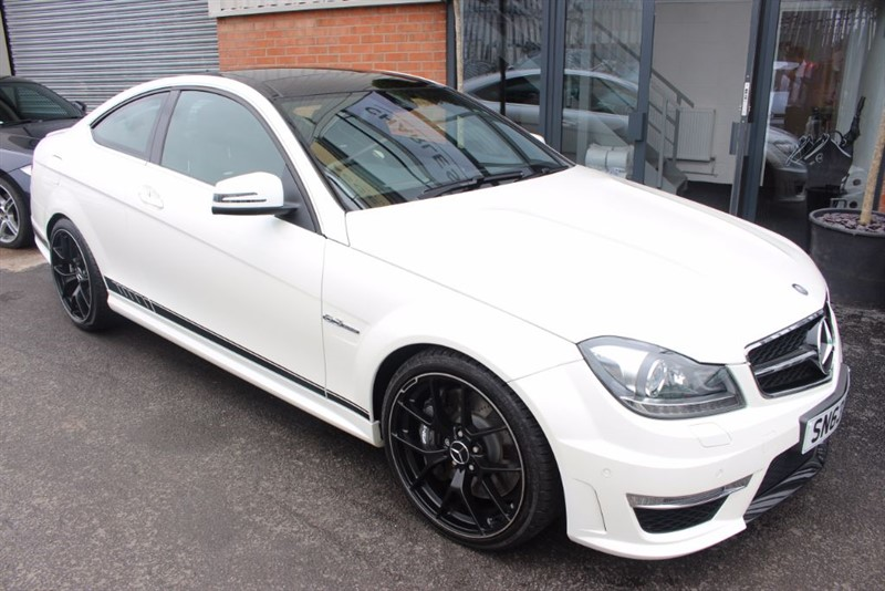used Mercedes C63 AMG 2 OWNER CAR-PANORAMIC ROOF. in warrington-cheshire