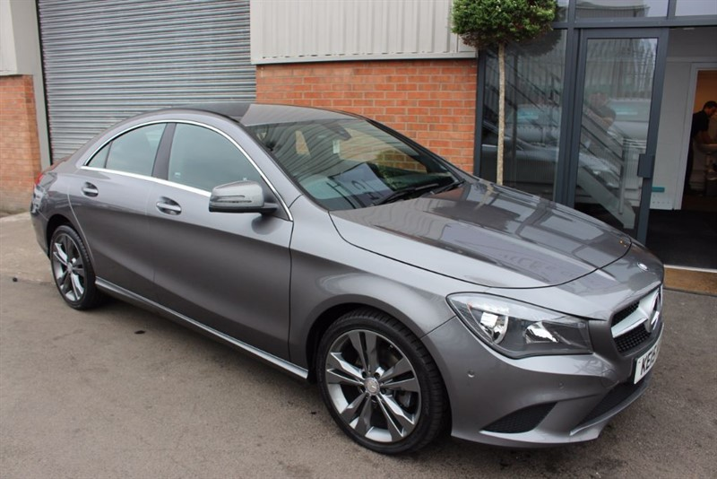 "used Mercedes CLA200 CDI SPORT-SATNAV-BLUETOOTH-18""ALLOYS in warrington-cheshire"