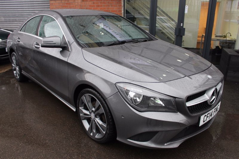 used Mercedes CLA180 SPORT-SAT NAV-BLUETOOTH in warrington-cheshire