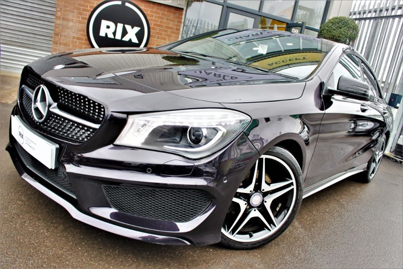 used Mercedes CLA180 AMG SPORT in warrington-cheshire
