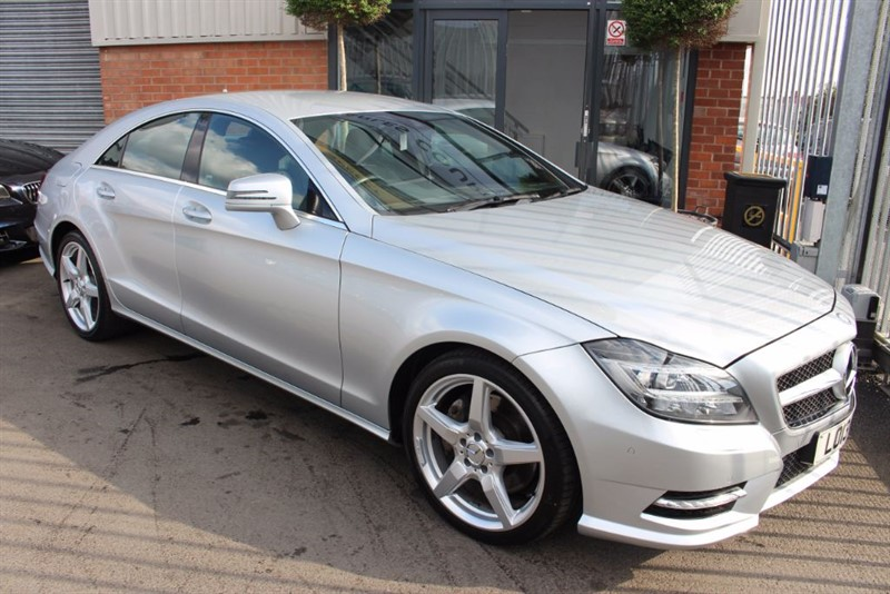 used Mercedes CLS350 CDI BLUEEFFICIENCY AMG SPORT-STUNNING EXAMPLE in warrington-cheshire