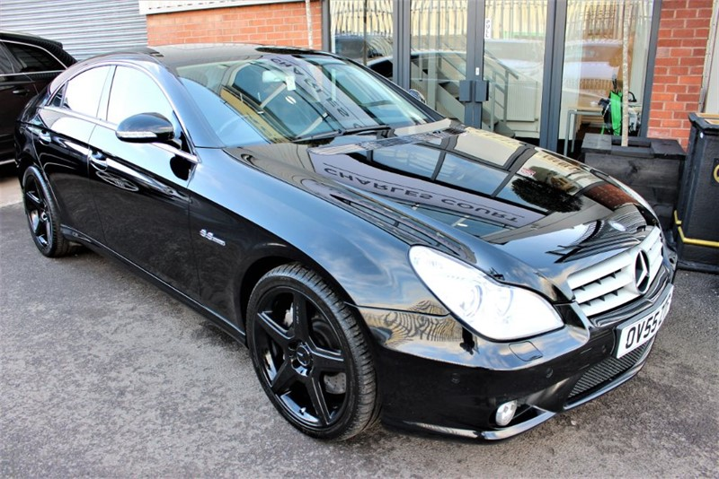used Mercedes CLS55 AMG 2 OWNERS-EX FOOTBALLER'S CAR in warrington-cheshire