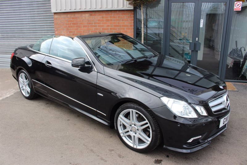 used Mercedes E220 CDI BLUEEFFICIENCY SPORT ED125 in warrington-cheshire