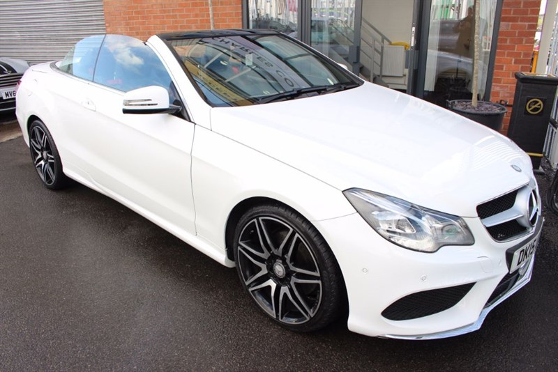 used Mercedes E220 BLUETEC AMG LINE-1OWNER in warrington-cheshire