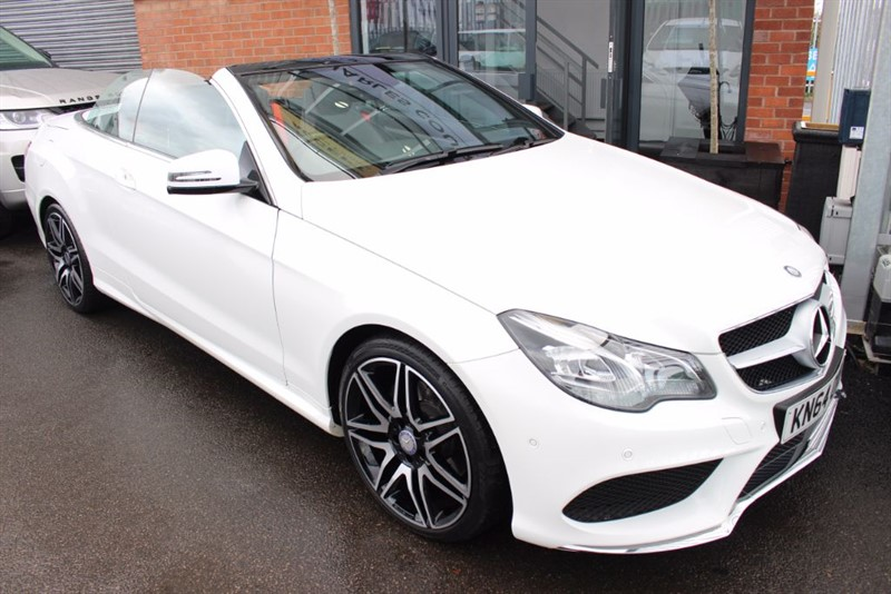 used Mercedes E220 CDI AMG SPORT-AIR SCARF-SAT NAV in warrington-cheshire