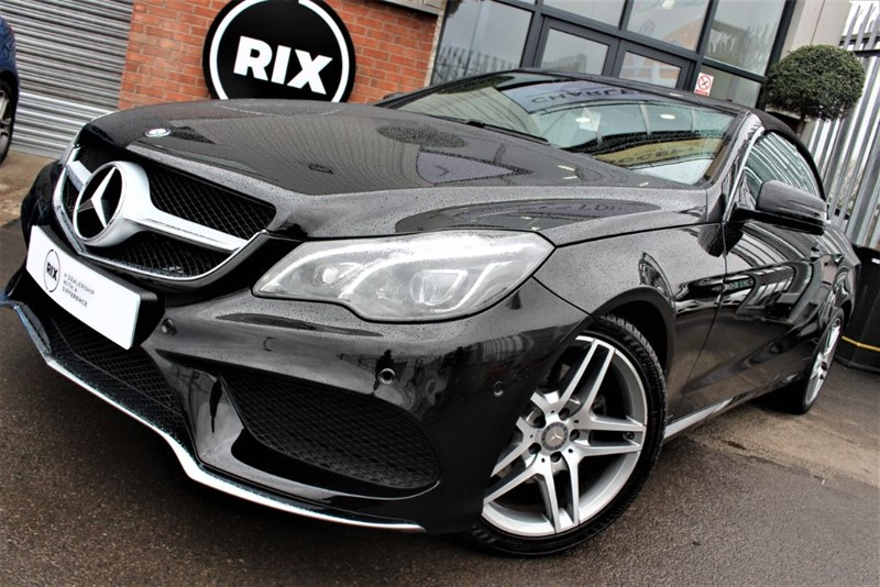 used Mercedes E220 BLUETEC AMG LINE in warrington-cheshire