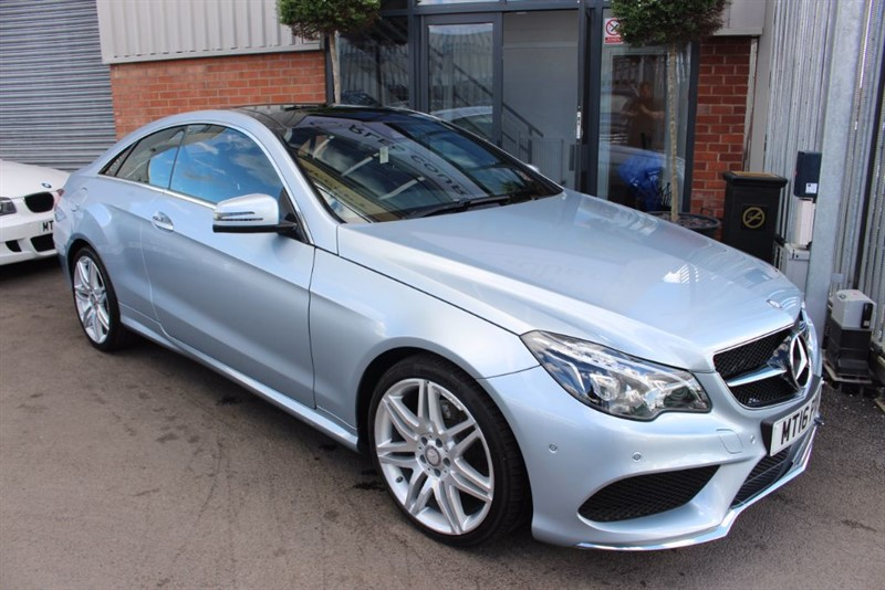 used Mercedes E220 D AMG LINE EDITION PREMIUM-PAN ROOF & 1 OWNER in warrington-cheshire