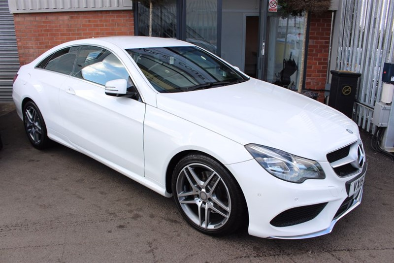 used Mercedes E220 BLUETEC AMG LINE-SATNAV-REAR CAMERA in warrington-cheshire