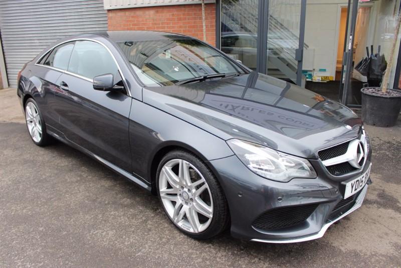"used Mercedes E220 BLUETEC AMG LINE-19""ALLOYS-SAT NAV in warrington-cheshire"
