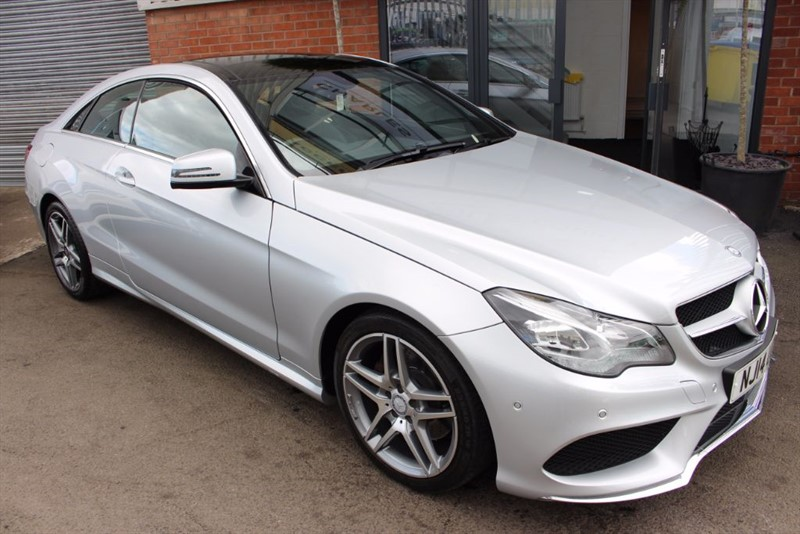 used Mercedes E220 CDI AMG SPORT-PAN ROOF-SAT NAV in warrington-cheshire