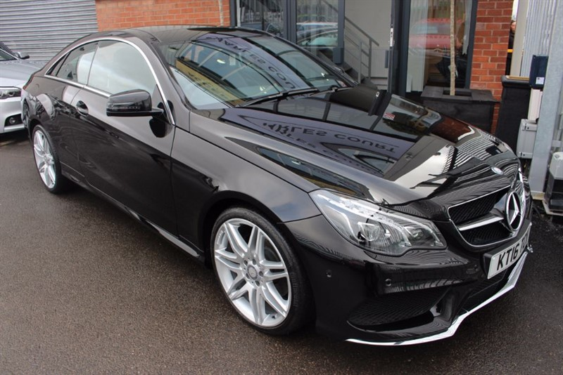 "used Mercedes E220 D AMG LINE EDITION-19""ALLOYS-SAT NAV-PAN ROOF in warrington-cheshire"