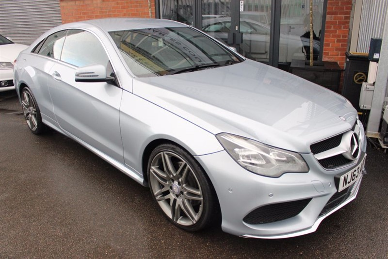 used Mercedes E220 CDI AMG SPORT-BLUETOOTH-CRUISE CONTROL-HEATED LEATHER SEATS in warrington-cheshire