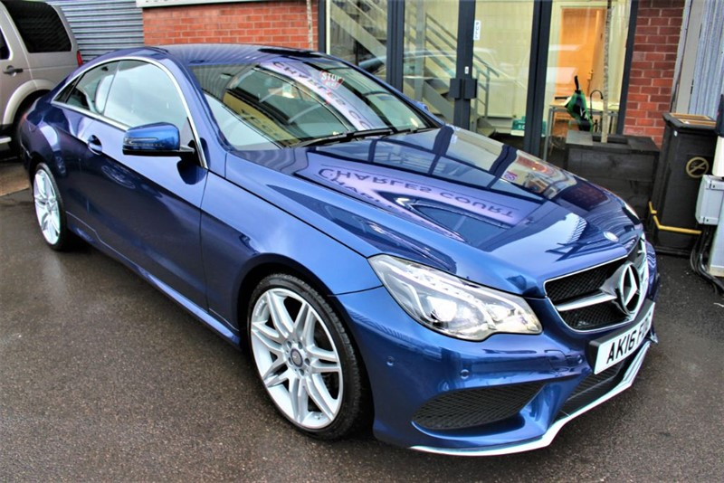 """used Mercedes E220 D AMG LINE EDITION-19""""ALLOYS-SAT NAV- F/S/H AT MERCEDES in warrington-cheshire"""