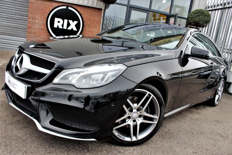 used Mercedes E220 BLUETEC AMG LINE in warrington-cheshire