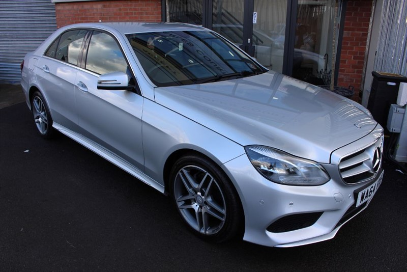 used Mercedes E220 CDI AMG SPORT. in warrington-cheshire