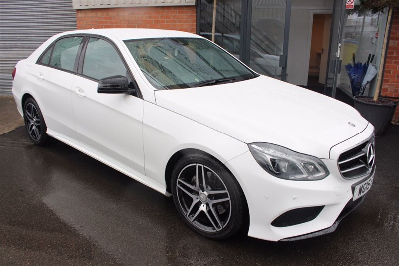 used Mercedes E220 BLUETEC AMG NIGHT EDITION-SATNAV in warrington-cheshire