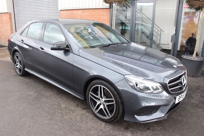 used Mercedes E220 BLUETEC AMG NIGHT EDITION in warrington-cheshire