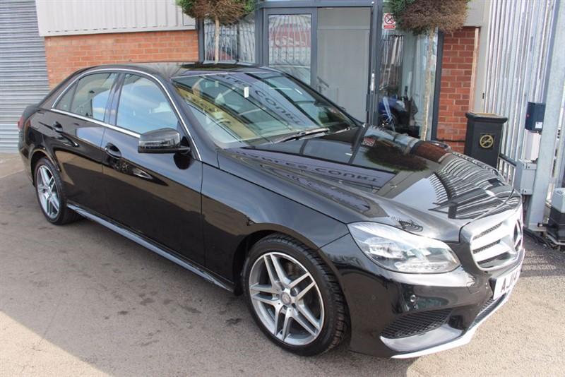 used Mercedes E220 CDI AMG SPORT-SAT NAV in warrington-cheshire