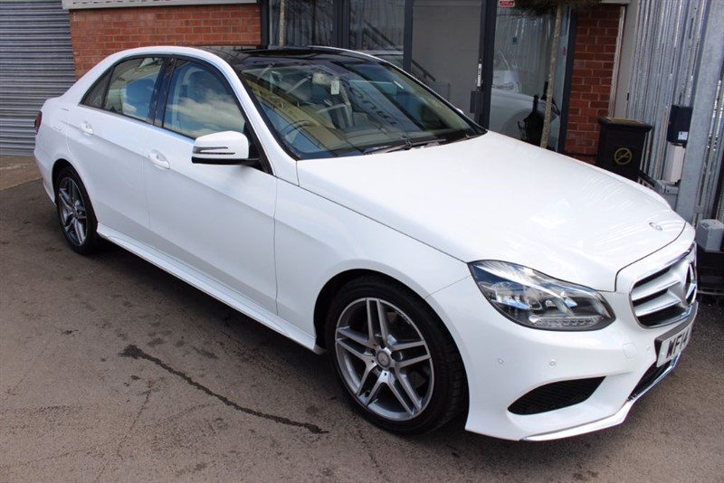 used Mercedes E220 CDI AMG SPORT-SATNAV-PAN ROOF-SPECIAL ORDER LEATHER in warrington-cheshire
