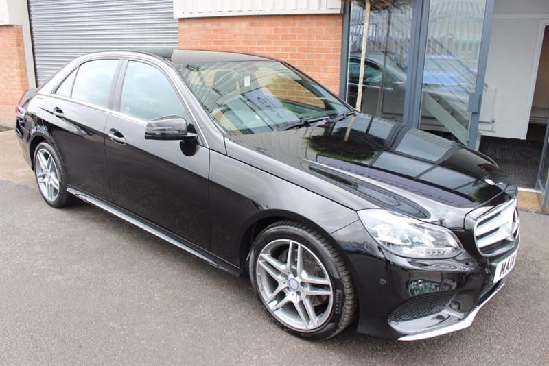 used Mercedes E220 CDI AMG SPORT-SAT NAV-HEATED SEATS in warrington-cheshire