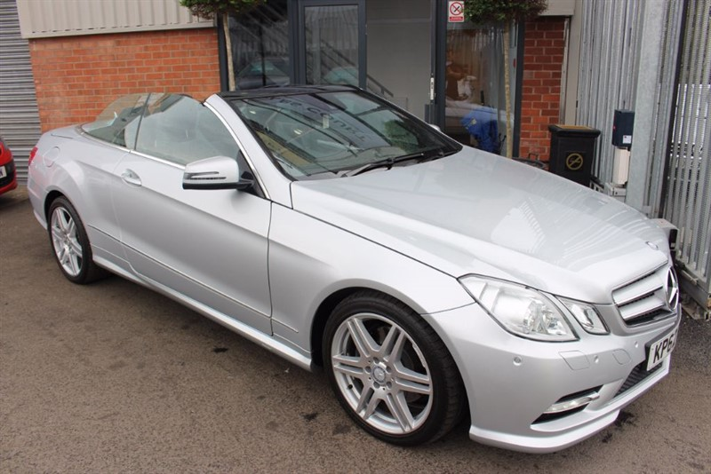 used Mercedes E250 CDI BLUEEFFICIENCY SPORT-LOW MILES in warrington-cheshire